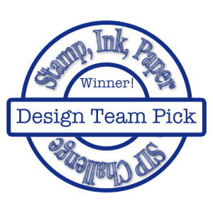 #195 design team pick badge | Tracy Marie Lewis | www.stuffnthingz.com
