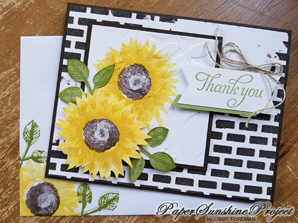 Libby Paper Sunshine - Sunflowers | Tracy Marie Lewis | www.stuffnthingz.com