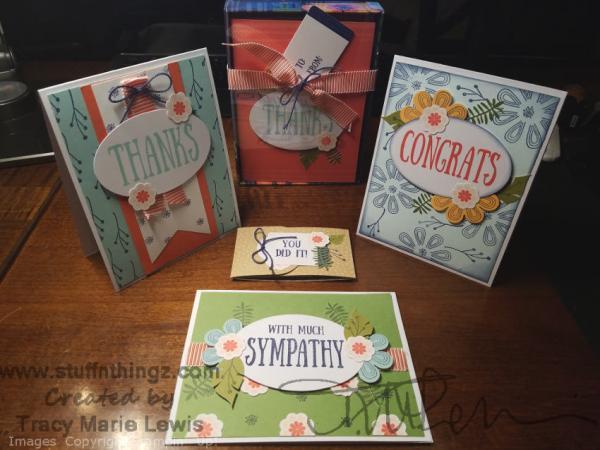 Alternatives - Paper Pumpkin August 2017 - Giftable Greetings