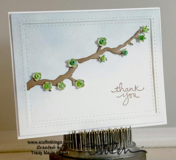 Branch Thank You For a Special Friend | Tracy Marie Lewis | www.stuffnthingz.com