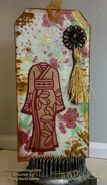 Asian Inspired Tag  | Tracy Marie Lewis | www.stuffnthingz.com