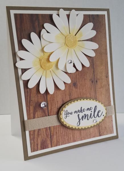 Favorite Swap - Daises Smile Card