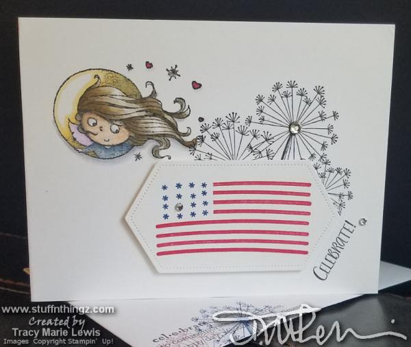 Fourth Of July Fairy | Tracy Marie Lewis | www.stuffnthingz.com
