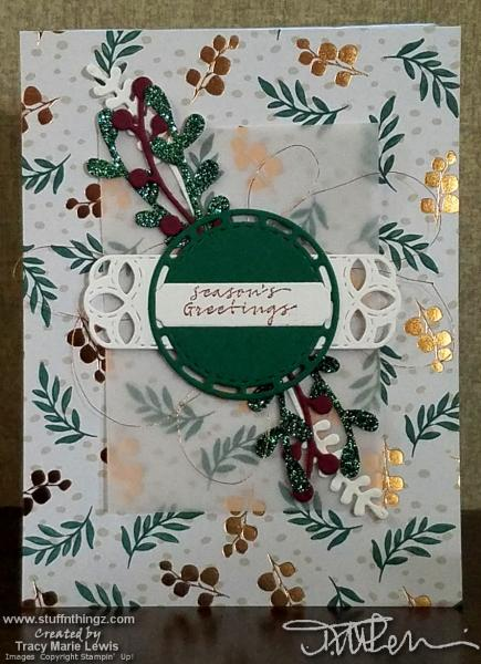 Center Focal Season's Greetings Front | Tracy Marie Lewis | www.stuffnthingz.com