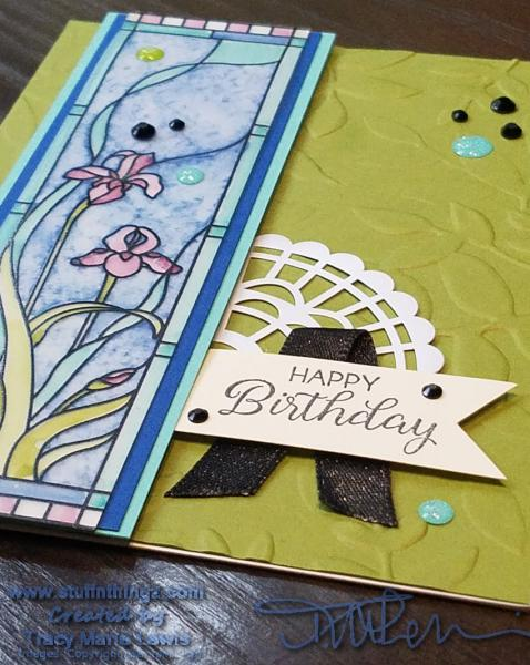 Tutorial - Using Blends To Color Graceful Glass Vellum DSP | Tracy Marie Lewis | www.stuffnthingz.com