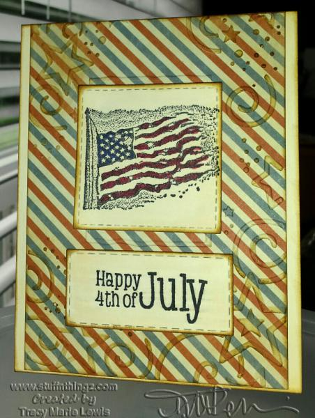 Happy 4th of July | Tracy Marie Lewis | www.stuffnthingz.com
