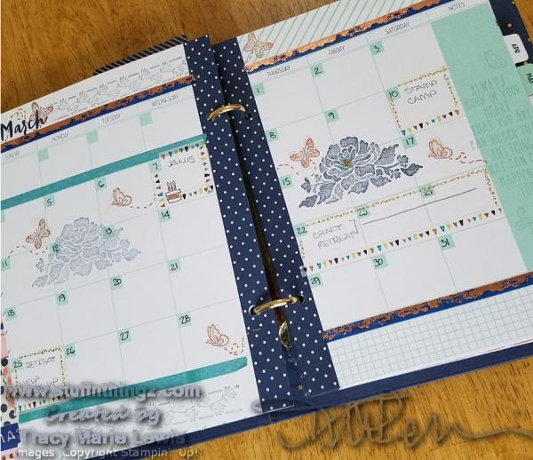 Create - March Love Today Planner Monthly Decorating | Tracy Marie Lewis | www.stuffnthingz.com