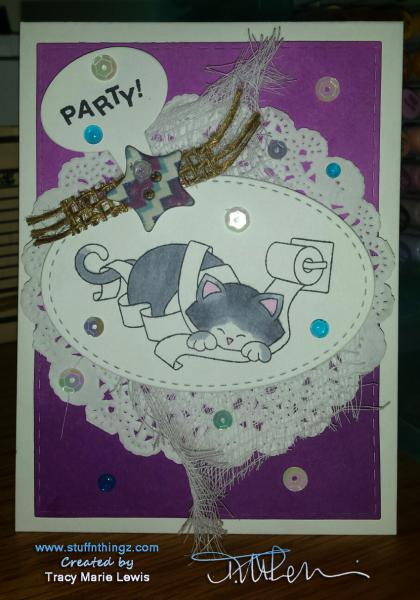 Newton's Nook Inky Paws Challenge #33 Party! | Tracy Marie Lewis | www.stuffnthingz.com