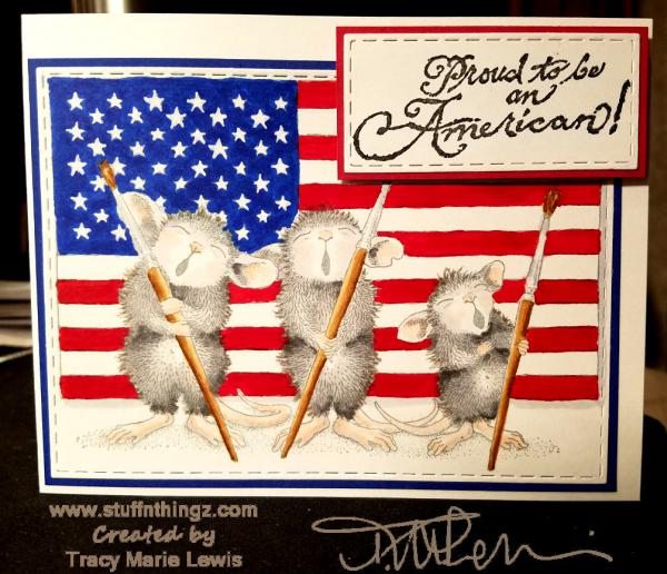 Patriotic Mice - A Redo | Tracy Marie Lewis | www.stuffnthingz.com