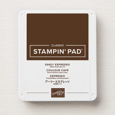 Early Espresso Classic Stampin' Ink Pad