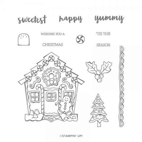 Yummy Christmas Stamp Set