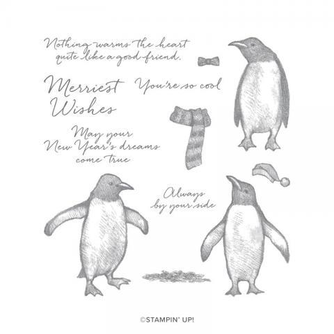 Playful Penguins Stamp Set