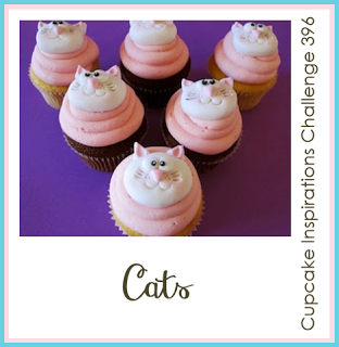 Cupcake Inspirations Challenge CIC396 Cat | www.stuffnthingz.com