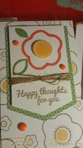 Happy Thoughts Paper Pumpkin Stampin' Up Kit - Tracy Marie Lewis - www.stuffnthingz.com