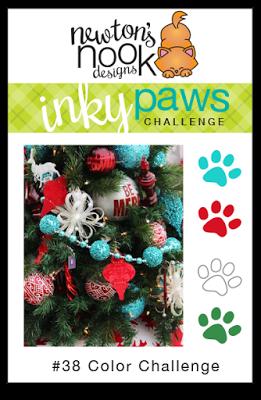 Inky Paws Challenge #38 Color Challenge   www.stuffnthingz.com