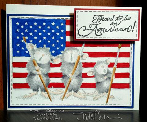 Patriotic Mice | Tracy Marie Lewis | www.stuffnthingz.com