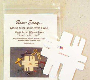 Bow Easy - Mini Bow Maker  | Tracy Marie Lewis | www.stuffnthingz.com