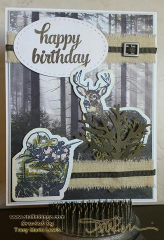 Happy Birthday Hunting Take 2 - Tracy Marie Lewis - www.stuffnthingz.com