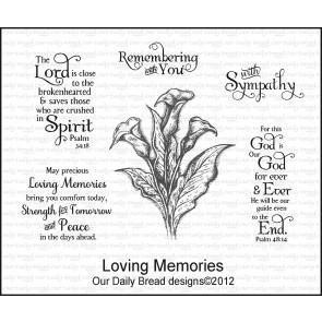 Stamp Set ODBD Loving Memories  | Tracy Marie Lewis | www.stuffnthingz.com