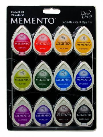 Memento Dew Drop Dye Ink - Gum Drops 12 pack  | Tracy Marie Lewis | www.stuffnthingz.com