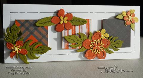 Botanical Blooms Card | Tracy Marie Lewis | www.stuffnthingz.com