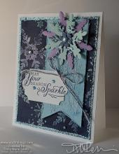 WICW - Snowflake Card | Tracy Marie Lewis