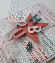 In-Color Star HB2U Card | Tracy Marie Lewis | www.stuffnthingz.com