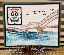 Wherever You Go Artwork | Tracy Marie Lewis | www.stuffnthingz.com