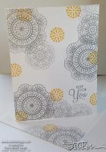 Dear Doily Beginner Stamper Just For You Card | Tracy Marie Lewis | www.stuffnthingz.com