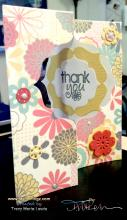 Yellow and Pink Floral Flip Card