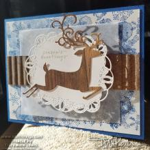Wood Textures Leaping Deer Fronts | Tracy Marie Lewis | www.stuffnthingz.com
