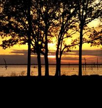 Sunset At Lake Tawakoni Thousand Trails | Tracy Marie Lewis | www.stuffnthingz.com