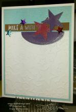 Make A Wish Upon A Star Card   Tracy Marie Lewis   www.stuffnthingz.com