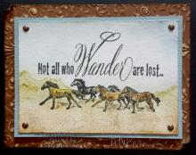 Not All Who Wander Are Lost | Tracy Marie Lewis | www.stuffnthingz.com