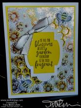 Retiring - Pineapple Punch Bee Card | Tracy Marie Lewis | www.stuffnthingz.com