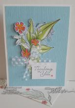 Retreat Coloring Project - Thinking Of You Card | Tracy Marie Lewis | www.stuffnthingz.com