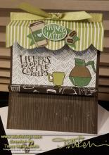 Stamp Camp - Coffee Stand Card | Tracy Marie Lewis | www.stuffnthingz.com