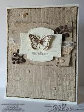 With Love Butterfly Card | Tracy Marie Lewis | www.stuffnthingz.com
