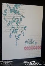 #simplestamping - leaves birthday card two | Tracy Marie Lewis | www.stuffnthingz.com