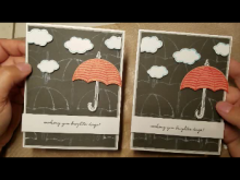 Making A Card Using Weather Together | Tracy Marie Lewis | www.stuffnthingz.com