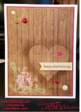 CASE Valentine Card - Lovely Wood | Tracy Marie Lewis | www.stuffnthingz.com
