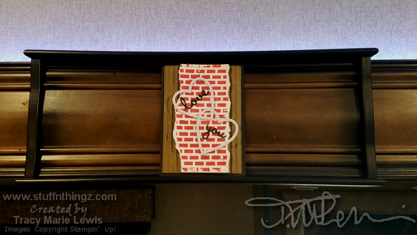 Bricks Love Wall Art - Hanging | Tracy Marie Lewis | www.stuffnthingz.com