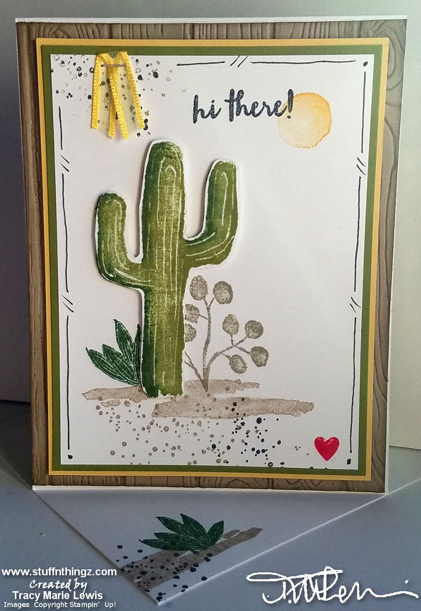 January 2019 Stampin' Dreams Blog Hop - Avid Stamper A2 Card Example