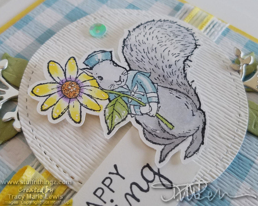 March 2019 Stampin Dreams Blog Hop Close Up | Tracy Marie Lewis | www.stuffnthingz.com