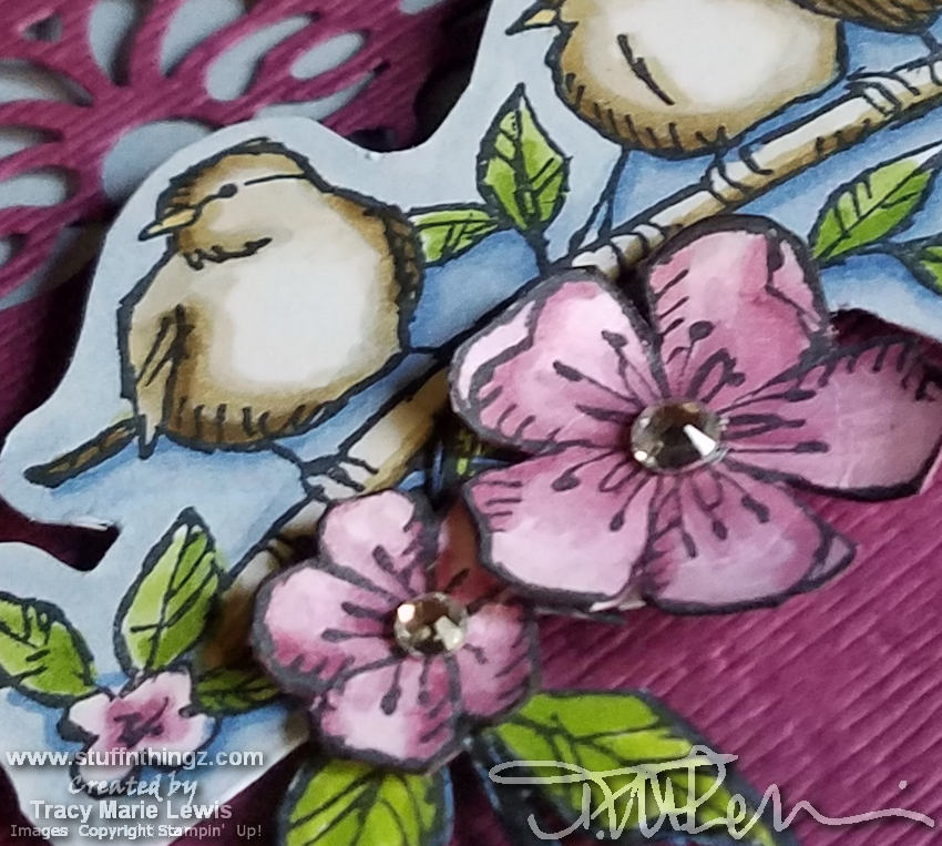 Birds & Flowers Close Up | Tracy Marie Lewis | www.stuffnthingz.com
