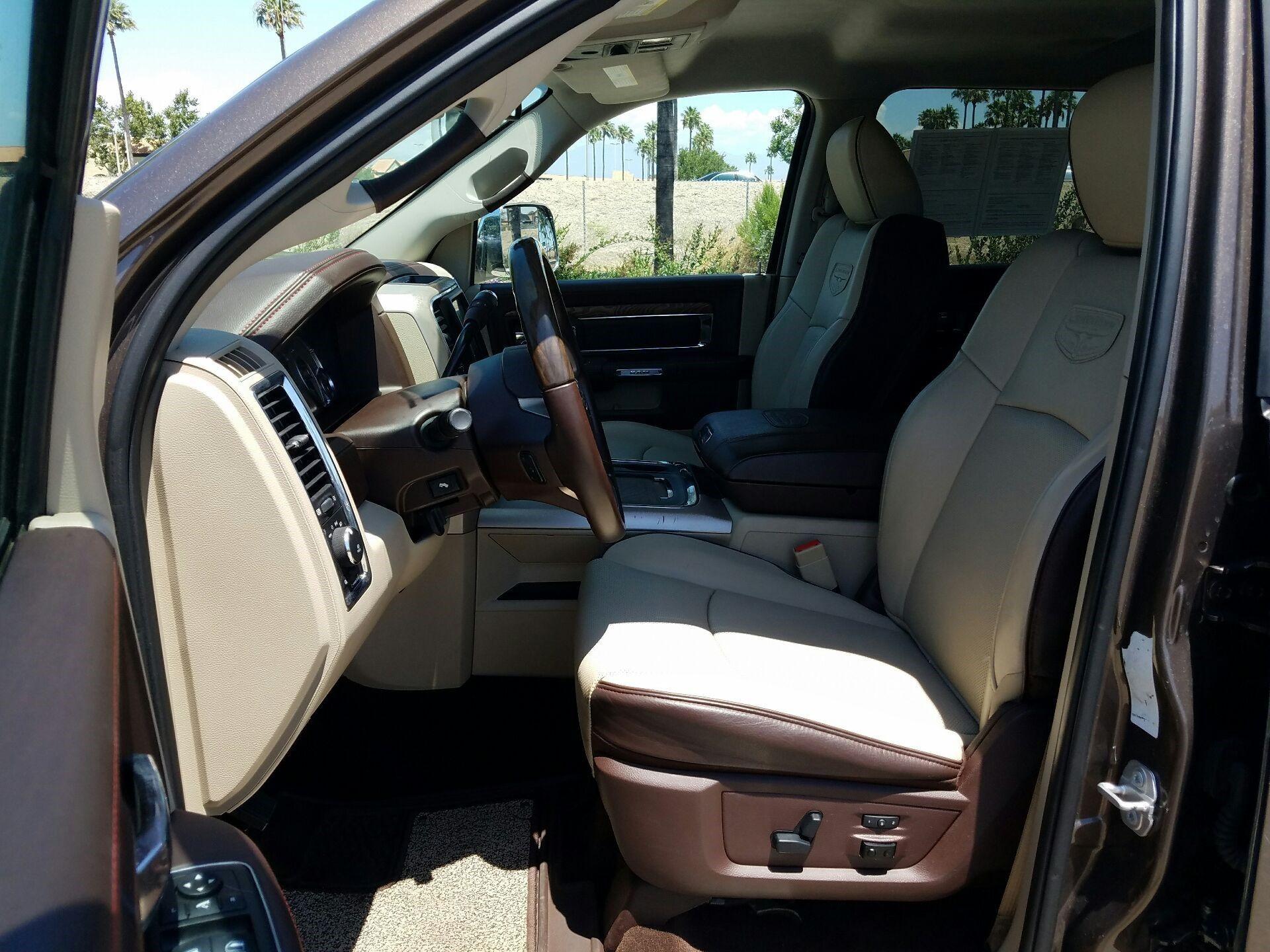 2018 Dodge Ram 3500 - Cream Seats | Tracy Marie Lewis | www.stuffnthingz.com
