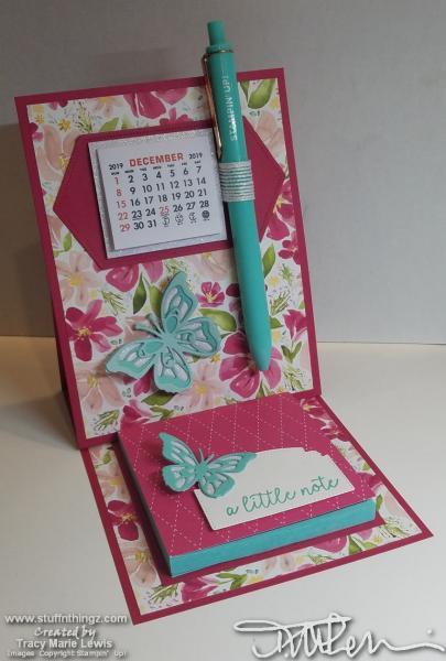Calendar Post-It Easel Desk Accessory | Tracy Marie Lewis | www.stuffnthingz.com