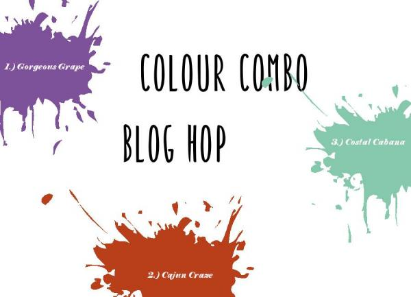 colour combo blog hop - January 2019 | Tracy Marie Lewis | www.stuffnthingz.com