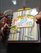 Garden Mini Album | Tracy Marie Lewis | www.stuffnthingz.com