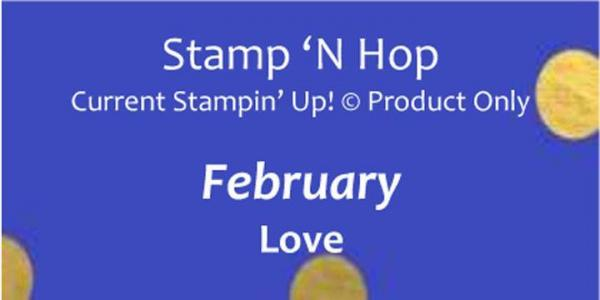 February 2019 Stamp 'N Hop - Love   Tracy Marie Lewis   www.stuffnthingz.com